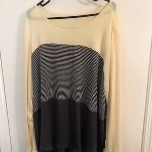 Maurices Sweaters - Maurices colorblock light weight sweater